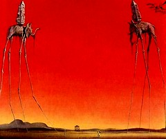 salvador_dali_elephants_postcard_1