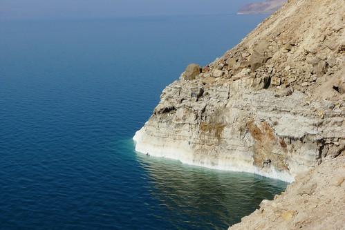 Scogliera sul Mar Morto