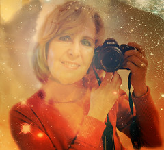 The Picture (Mara ~earth light~) Tags: portrait photoshop self mirror picture nasa projection creativecommons intuition nflorence2012