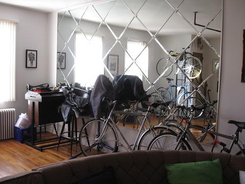 IMG_8794 Joe Boruchow's house--bike lineup