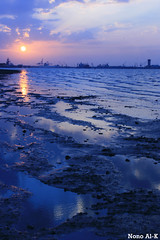 .. Sad Sunset (Nouf Alkhamees) Tags: sunset alk nono today nof   alkuwait  nouf      flickrlovers shweekh
