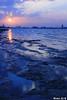 غروب حزين .. Sad Sunset (Nouf Alkhamees) Tags: sunset alk nono today nof اليوم غروب alkuwait الكويت nouf ازرق حزين شويخ نوف نونو flickrlovers shweekh