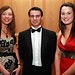 Sarah Johnston, Philip Richardson and Danielle Graham from Carrick