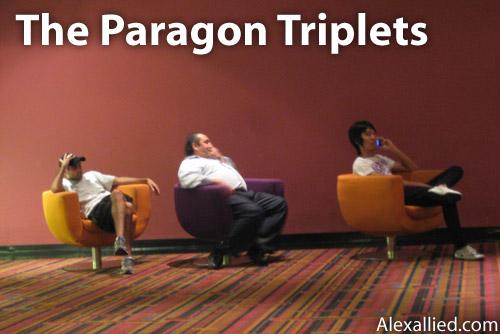 The Paragon Cineplex Triplets