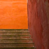 Stairs in colour
