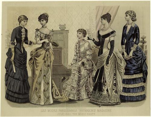011- Les Modes parisiennes-Reunion musical 1883
