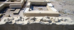 CIMG2390 (larkken) Tags: sculpture archaeology architecture temple ruins athens greece restoration marble athina attica sculpturalrelief