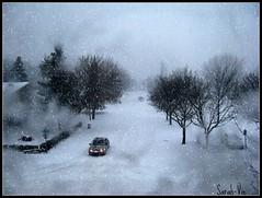 l'hiver (Sarah-Vie) Tags: hiver neige tempête