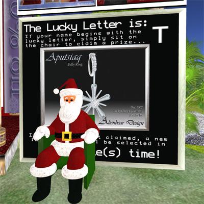 Lucky Santa!