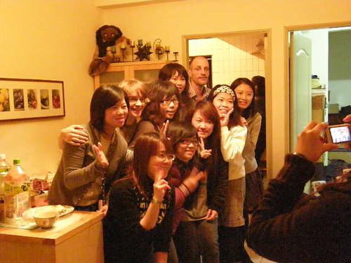 2008-12-14 Christmas Party at Katannya's Apartment
