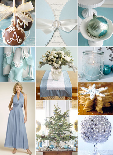 Here 39s an inspiration board for a winter wedding See Best WeddingSitescom