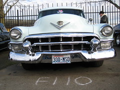 cadillac grille 1953