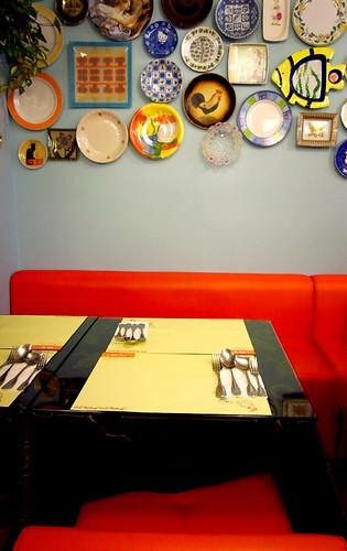 你拍攝的 盤子餐廳。
