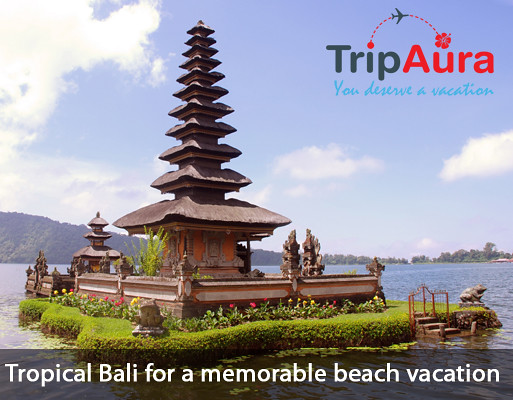 Tropical Bali for a memorable beach vacation by Trip Aura