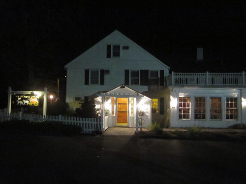 Yarmouth Port at Night