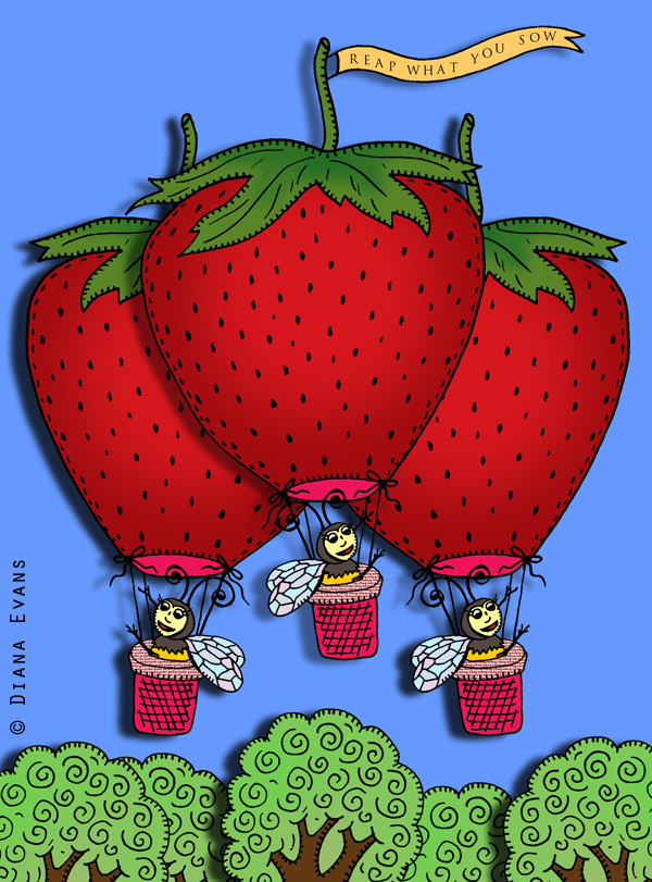 strawberies escape