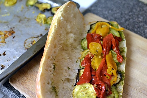 Roasted Veggie Sandwich2