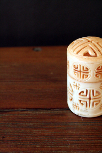 carved containter
