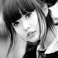 Akina (swanky) Tags: portrait people blackandwhite bw woman cute girl beautiful beauty canon asian eos md model women pretty taiwan 85mm babe belle taipei   2008  taiwanese   30d   shihlin  akina    canonef85mmf18usm  nationaltaiwanscienceeducationcenter   ntsec asiandreamaward emiruemirue  mtv mtv dreamnoir  fpggold2008iv