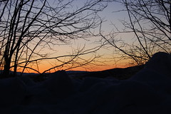 3/10/07 (Bliss County) Tags: winter snow sunrise march corinth