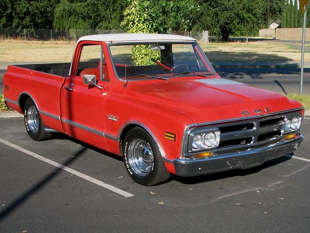 classic pickup 1968 gmc v8
