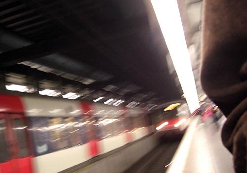arrivee train
