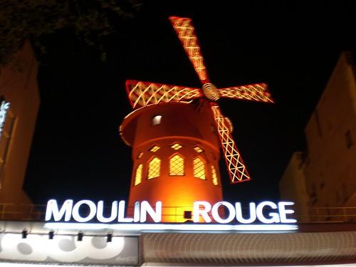 Le Moulin Rouge (abril, 2007)