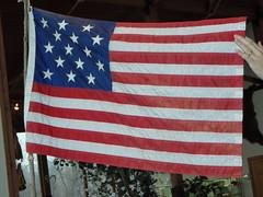 American Flag 15 stars 15 stripes 1795-1818 (Cindy シンデイー) Tags: nature st stars stripes flag united lewis 15 charles center mo missouri clark states boathouse starsandstripes starspangledbanner 1818 1794 1795 goldstaraward