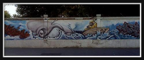 Moby-Dick graffiti