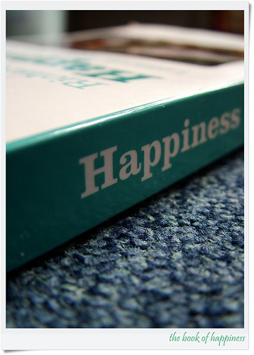 """the book of happiness"", aPicaDay030 by friendsofarnon, on Flickr"