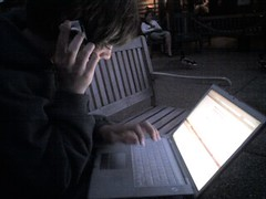 nephew sam shows off hacking skillz (alist) Tags: family alist robison alicerobison ajrobison