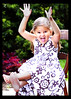Schooooool's Out.... (Erin G. Photography) Tags: party summer vacation out fun happy outdoor barefoot schools pigtails sundress