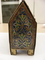Reliquary Casket, 1185-95. Museum no. 7945-1862