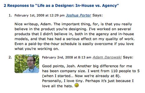 BatchBlue Blog - Author Comment Style