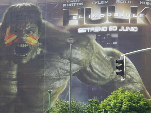Hulk apoya a España
