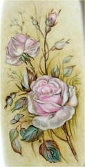 Le Rose, particolare. (ekaterinant2) Tags: flowers nature colors painting ceramics natura fiori colori dipinti ekaterina porcellana