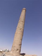 Minaret at the Musalla complex