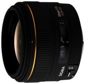 Sigma 30mm f/1.4 EX DC HSM Lens for Canon Digital SLR Cameras