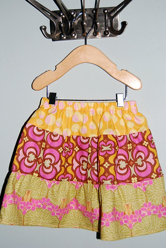 Amy Butler skirt for Lucy