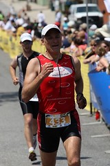 Muskoka Triathlon - Hitting the Finish Line