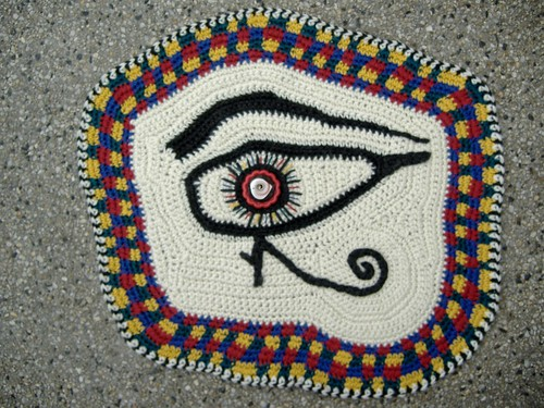 eye of horus - outdoors
