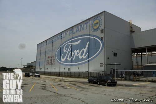 Abandoned Ford Assembly Plant