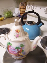 Teapot and teakettle