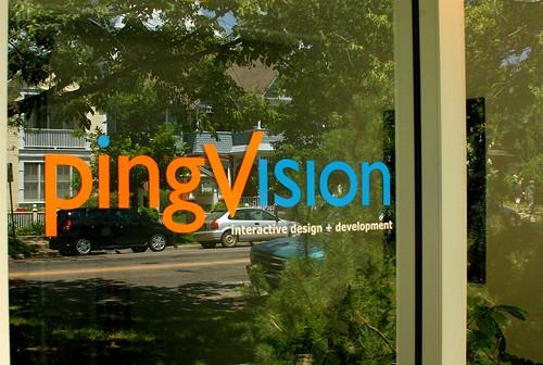 pingVision signage