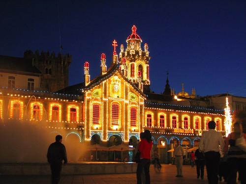 Braga enfeitada para o São João