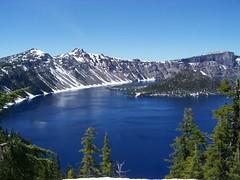 The Western Wall (GeologyRox) Tags: blue lake oregon volcano caldera craterlake eruption wizardisland mtmazama photocontesttnc08 wizardpeak