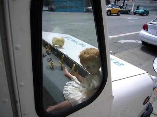 doll on dashboard