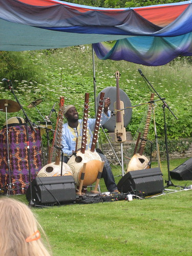 Seckou Keita at Asthall Manor