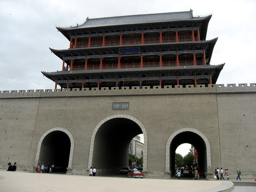 The gate of the city