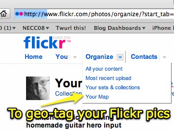 GeoTag your Flickr pics